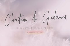 Web Font Chateau de Gudanes 2 Elegant Fonts Product Image 1