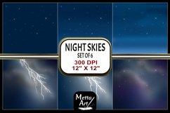 "6 Designs - 12"" x 12"" Night Skies Set Product Image 1"