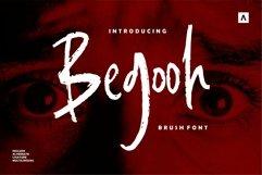 Web Font Begooh - Brush Font Product Image 1