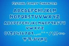 Web Font Festival Comedy - Comic Font Product Image 6