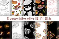 Fast Food Pattern collection Product Image 1