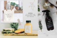 Aronia - Thin Line Logo Font Product Image 8
