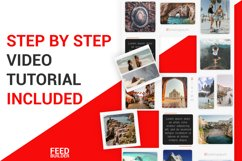 Instagram Puzzle Feed Template #2 Product Image 4