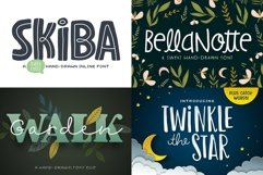 The Utterly Delightful Font Pack Product Image 4