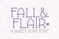 FALL & FLAIR Farmhouse Serif Font Product Image 1