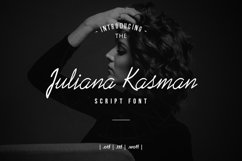 Juliana Kasman Script Product Image 1