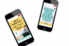 Traffic Generating Video Animated Pinterest Pin Pack | Canva Product Image 5