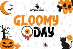 Web Font Gloomy Day Product Image 1