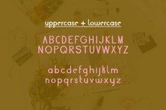 Fall Script Bullet Journal Font | Autumn Planner Scrapbook Product Image 2