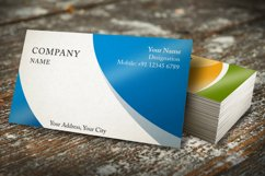 Photorealistic business card mockup set Product Image 5