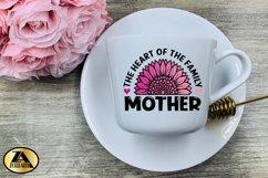 Mothers Day SVG PNG EPS DXF MOTHER SVG Mom Sunflower SVG Product Image 4