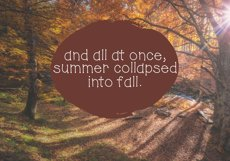Autumn Sky - A Handwritten Font Product Image 4