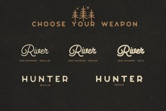Riverfall Semi rounded Script and Sans Ver.2 Product Image 2