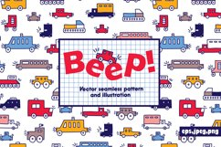 Beep! Cars for boys! Product Image 1