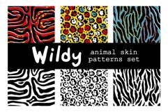 WILDY   animal skin patterns set Product Image 5