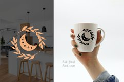 Moon phases svg, Celestial svg, Magic and Mystical svg Product Image 4