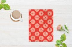 Ethnic Digital Paper, Mandala Seamless Pattern, Uzbek Suzani Product Image 6