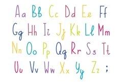 Unicorns vector set and alphabet bonus Product Image 5