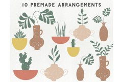 150 modern abstract design elements - floral illustrations Product Image 5