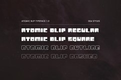 Atomic Blip | Font of the Future! Product Image 2