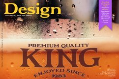 Optimus - Serif font family Product Image 10