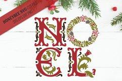 Ornate Noel svg Product Image 1