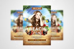 Summer Party Flyer 3 in 1 Bundle Template Product Image 4