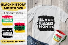 Black History Month SVG, African American Cut File Product Image 1