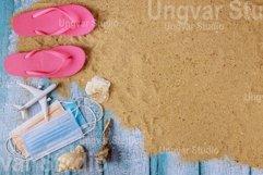 Coronavirus COVID-19 protection ban on beach vacations Product Image 1