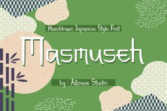 Web Font - Masmuseh Product Image 1