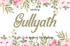 Gullyath,font duo family love Product Image 1