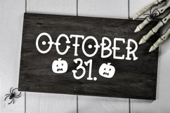 Web Font Booyah - A Hand-Lettered Halloween Font Product Image 3
