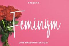 Feminism - Cute Handwritten Font Product Image 1