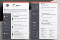 Resume / CV Template Product Image 2