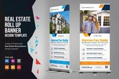 Real Estate Roll up Banner Signage v2 Product Image 1