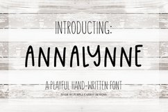Annalynne Font Product Image 1