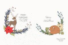Christmas Woodland Animals Clipart Product Image 5