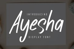 Ayesha Display Font Product Image 1