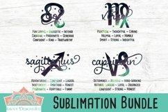Zodiac Traits Sublimation Bundle Product Image 4