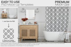 Bath Curtain Mockup Pack Product Image 3