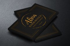 Jewelry Store Business Card Photoshop Template Product Image 1