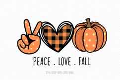 Halloween SVG bundle | fall svg | peace love svg bundle Product Image 2