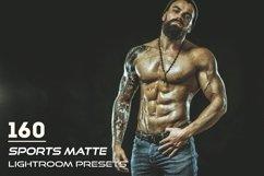 160 Sports Matte Lightroom Presets Product Image 1