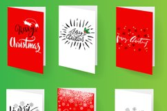 Christmas snowy display font Product Image 5