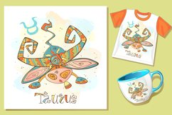 Taurus zodiac sign. For children.   Product Image 3