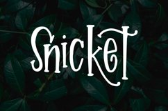 Snicket Product Image 1