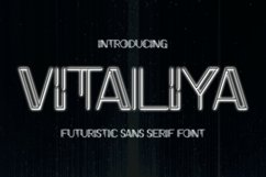 Vitaliya Font Product Image 1