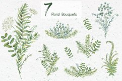 Watercolor herbs. Clipart collection Product Image 4