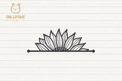 Cute Sunflower svg, Sunflower svg, Sunflower clipart Product Image 6