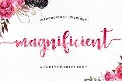 Magnificient Script Product Image 1